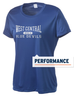 West Central Community School Blue Devils Women's Competitor Performance T-Shirt