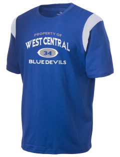 West Central Community School Blue Devils Holloway Men's Rush T-Shirt