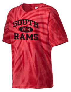 South Elementary School Rams Kid's Tie-Dye T-Shirt