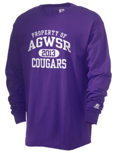 AGWSR High School Cougars  Russell Men's Long Sleeve T-Shirt