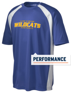 Clyde D Mease Elementary School Wildcats Men's Dry Zone Colorblock T-Shirt