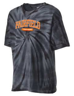 Fairfield Senior High School Trojans Kid's Tie-Dye T-Shirt