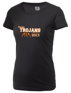 Fairfield Senior High School Trojans  Russell Women's Campus T-Shirt
