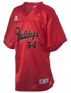 Bryant Elementary School Bulldogs Russell Kid's Replica Football Jersey