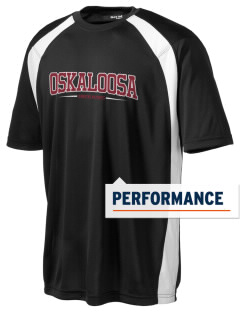 Oskaloosa Junior High School Indians Men's Dry Zone Colorblock T-Shirt
