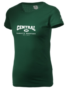 Central Elementary School Spartans  Russell Women's Campus T-Shirt