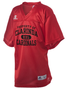 Clarinda Senior High School Cardinals Russell Kid's Replica Football Jersey
