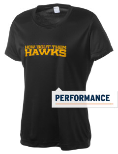 West Elementary School Hawks Women's Competitor Performance T-Shirt