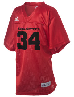 Akron-Westfield Community School Westerners Russell Kid's Replica Football Jersey