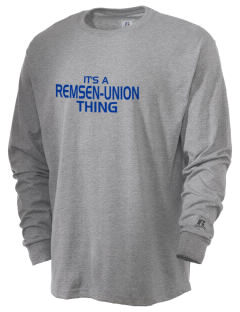 Remsen-Union Community School Rockets  Russell Men's Long Sleeve T-Shirt