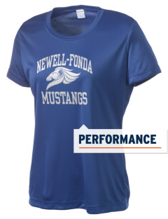 Newell-Fonda Middle School Mustangs Women's Competitor Performance T-Shirt