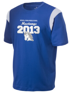 Newell-Fonda Middle School Mustangs Holloway Men's Rush T-Shirt