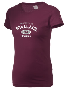 Wallace Elementary School Tigers  Russell Women's Campus T-Shirt