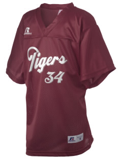 Wallace Elementary School Tigers Russell Kid's Replica Football Jersey