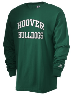 Hoover Elementary School Bulldogs  Russell Men's Long Sleeve T-Shirt