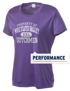 M O C Floyd Valley Middle School Dutchmen Women's Competitor Performance T-Shirt