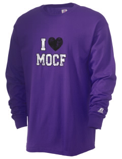 M O C Floyd Valley Middle School Dutchmen  Russell Men's Long Sleeve T-Shirt