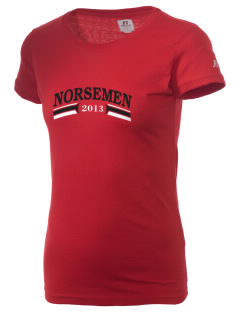 Roland-Story High School Norsemen  Russell Women's Campus T-Shirt