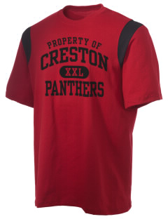 Creston Senior High School Panthers Holloway Men's Rush T-Shirt