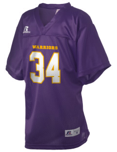Don Oviatt Elementary School Warriors Russell Kid's Replica Football Jersey