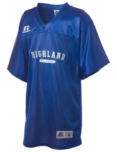 Highland High School Blue Streaks Russell Kid's Replica Football Jersey