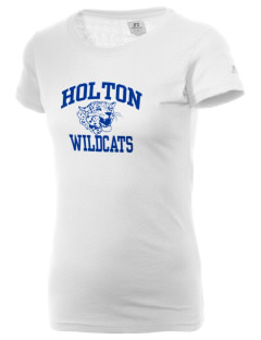 Holton High School Wildcats  Russell Women's Campus T-Shirt
