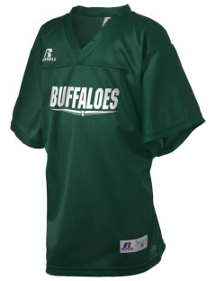 Bradley Elementary School Buffaloes Russell Kid's Replica Football Jersey