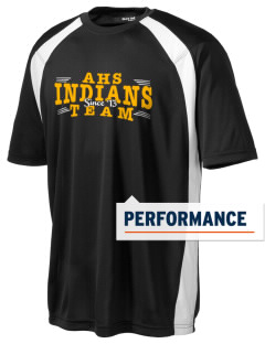 Andale High School Indians Men's Dry Zone Colorblock T-Shirt
