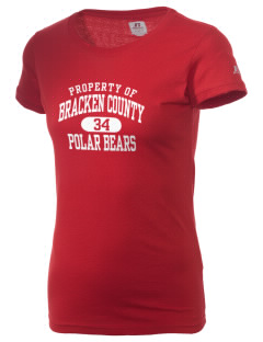 Bracken County High School Polar Bears  Russell Women's Campus T-Shirt