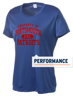 Portsmouth High School Patriots Women's Competitor Performance T-Shirt