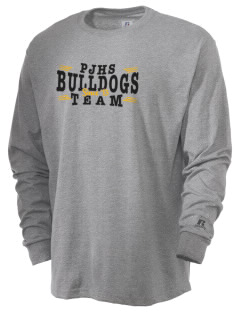 Pendleton Junior High School Bulldogs  Russell Men's Long Sleeve T-Shirt