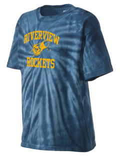 Riverview Elementary School Rockets Kid's Tie-Dye T-Shirt