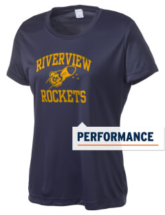 Riverview Elementary School Rockets Women's Competitor Performance T-Shirt