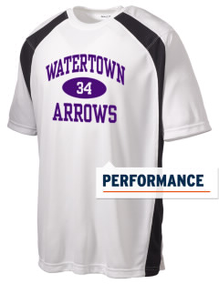 Watertown High School Arrows Men's Dry Zone Colorblock T-Shirt