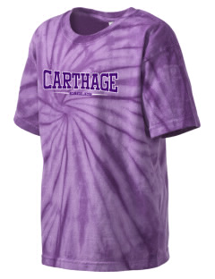 Carthage Elementary School Eagles Kid's Tie-Dye T-Shirt