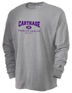 Carthage Elementary School Eagles  Russell Men's Long Sleeve T-Shirt