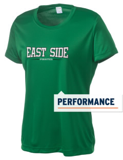 East Side Elementary School Pirates Women's Competitor Performance T-Shirt