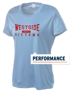 Westside Elementary School Kittens Women's Competitor Performance T-Shirt