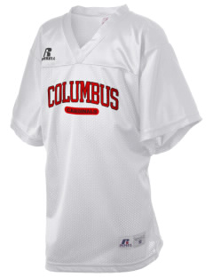 Columbus Elementary School Cardinals Russell Kid's Replica Football Jersey