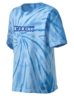 Crockett Elementary School Bulldogs Kid's Tie-Dye T-Shirt