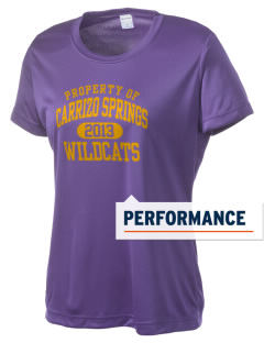 Carrizo Springs High School Wildcats Women's Competitor Performance T-Shirt