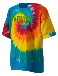 Fairview Elementary School Falcons Kid's Tie-Dye T-Shirt