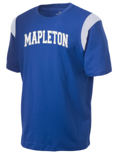 Mapleton Elementary School Otters Holloway Men's Rush T-Shirt