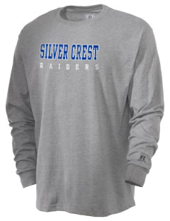 Silver Crest Elementary School Raiders  Russell Men's Long Sleeve T-Shirt