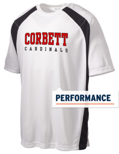 Corbett Middle School Cardinals Men's Dry Zone Colorblock T-Shirt