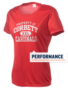 Corbett Middle School Cardinals Women's Competitor Performance T-Shirt