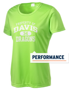 Davis Elementary School Dragons Women's Competitor Performance T-Shirt