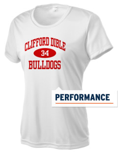 Clifford Dible Elementary School Bulldogs Women's Competitor Performance T-Shirt