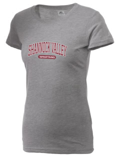 Shannock Valley High Spartans  Russell Women's Campus T-Shirt