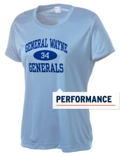 General Wayne Middle School Generals Women's Competitor Performance T-Shirt